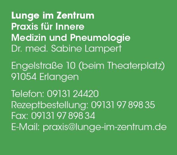 Dr. med. Sabine Lampert Lungenfachärztin